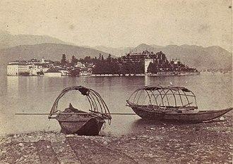 Adolphe Braun - Image: Braun, Adolphe (1811 1877) Lac Majeur, Isola Bella 2