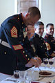 Bravo Co., 8th ESB celebrates tradition, brotherhood with mess night 140619-M-DS159-036.jpg