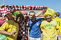 Brazil and Croatia match at the FIFA World Cup (2014-06-12; fans) 10.jpg