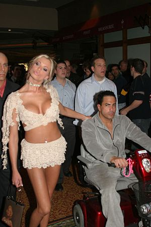 Bobby Vitale - Bobby Vitale on the right with his former girlfriend Briana Banks at the 2004 AVN Awards