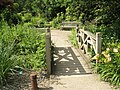 Bridge near the alpine area at RHS Wisley - geograph.org.uk - 847259.jpg