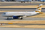 British Airways (Olympic Dove Livery), G-EUPH, Airbus A319-131 (44355006802).jpg