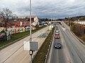 Brno, Královo Pole, Svitavská radiála z lávky (02).jpg