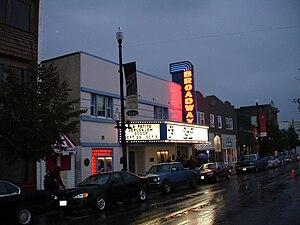 Broadway Avenue (Saskatoon) - Broadway Theatre on Broadway Avenue