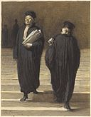 Brooklyn Museum - The Two Colleagues (Lawyers) (Les deux confrères Avocats) - Honoré Daumier.jpg