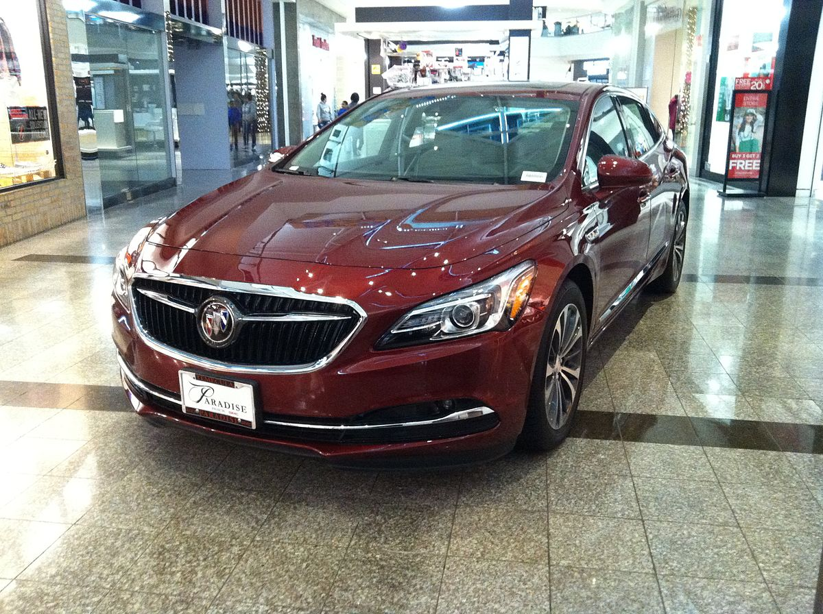 List Of Buick Vehicles