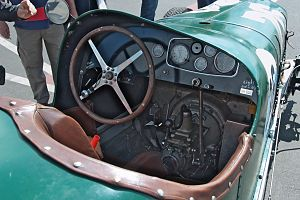 Phil Shafer - Dashbord of 1932 Buick Shafer 8