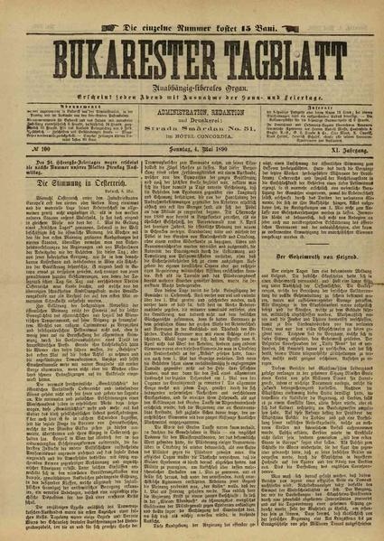 File:Bukarester Tagblatt 1890-05-04, nr. 100.pdf