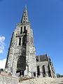 Bulat-Pestivien (22) Église Notre-Dame Tour-clocher 05.JPG