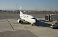 Bulgaria Air plane on Sofia Airport tarmac.jpg