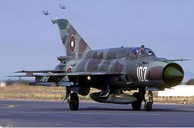 Bulgarian Air Force Mikoyan-Gurevich MiG-21bis Lofting-4.jpg