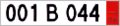 Bulgarian export license plate.png