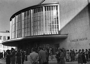Schiller Theater - Schiller Theater, 1953