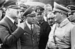 Bundesarchiv Bild 101III-Reprich-012-08, Wolfschanze, Hitler, Ley, Porsche und Göring.jpg