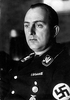Kurt Daluege German SS general and police official
