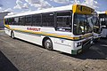 Busabout Wagga (6644 MO) Volgren bodied Volvo B10M parked at the East Wagga depot.jpg