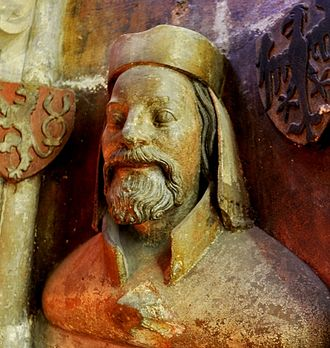 Charles IV, Holy Roman Emperor - Bust of Charles IV in St. Vitus Cathedral, 1370s