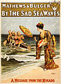 By the sad sea waves, performing arts poster, 1898.jpg