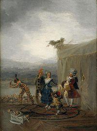 Cómicos ambulantes, 1793.