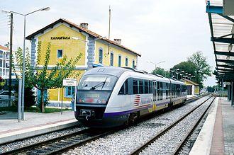 Kalabaka - Kalambaka station