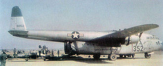 Tactical Air Command - Fairchild C-119B Flying Boxcar, AF Ser. No 48-352, of the 314th Troop Carrier Group.