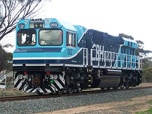CBH class - CBH002 at Wagin in 2012
