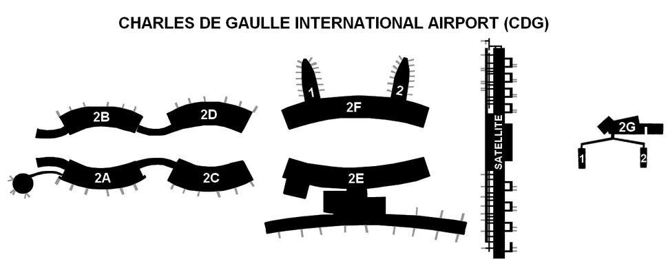 CDG Terminal 2