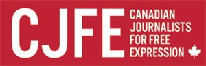 Canadian Journalists for Free Expression - Image: CJFE logo