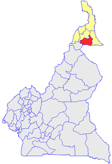 Mayo-Kani Department in Extreme-Nord Province, Cameroon