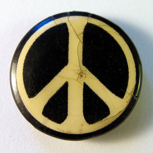 CND badge, 1960s