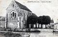 CP église Saint-Sulpice d'Audeville, Loiret, Centre, France.jpg
