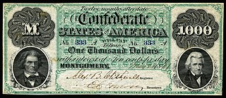 currency of the Confederate States of America