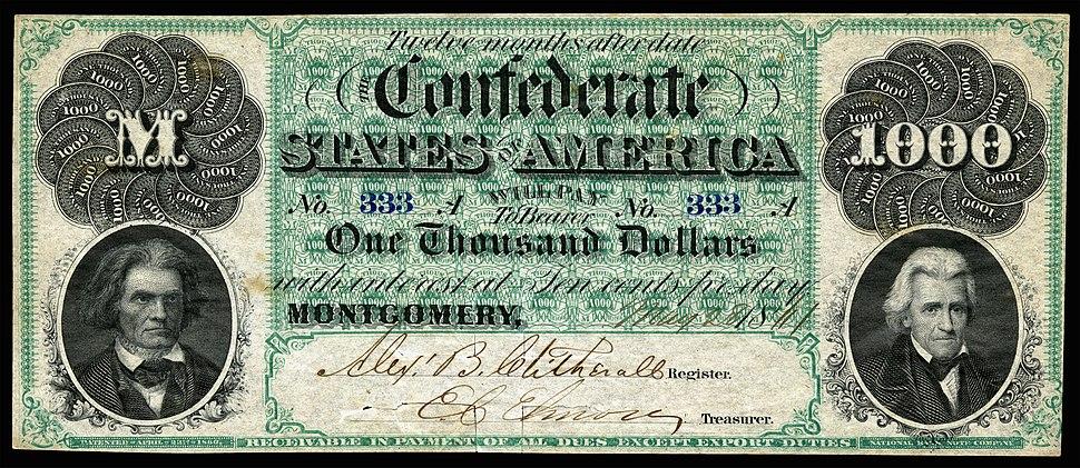 CSA-T1-$1000-1861