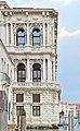 Ca' Pesaro di Baldassarre Longhena facciata angolo est sul Canal Grande hr.jpg