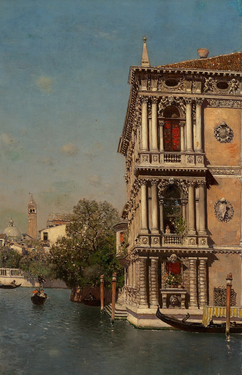 Ка'Реццонико, Венеция, автор Мартин Рико и Ortega.jpg