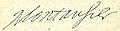Cabanès, Éducation de Princes010 Signature autographe de Montausier.jpg