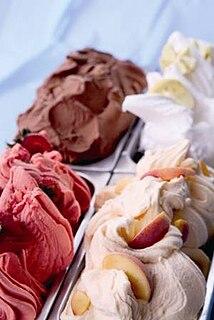 Gelato Type of Italian ice cream