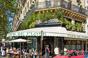 6th arrondissement of Paris - Image: Cafe de Flore 2007