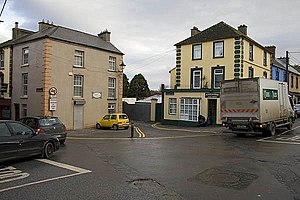 Callan, County Kilkenny - Junction of Mill Street and Green Street in Callan