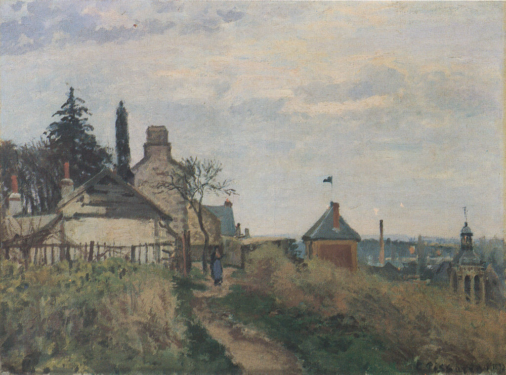 Camille Pissarro Print All Ef Bf Bde De La Tour Du Jongleur
