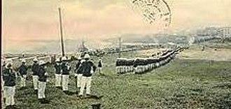 Camp Las Casas - Puerto Rico Regiment training in Camp Las Casas (c. 1904)