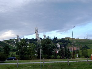 1988 Winter Olympics - Canada Olympic Park in 2006