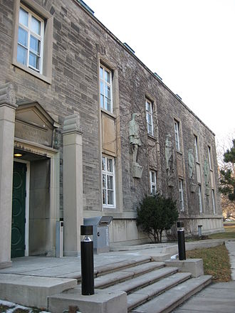 University of Toronto School of Public Policy and Governance - The Canadiana Gallery, one of three locations of the Munk School of Global Affairs and Public Policy and home to the MPP