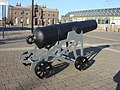 Cannon, Woolwich Arsenal Laboratory Square - geograph.org.uk - 1135816.jpg