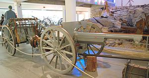 Weapons of World War I - French Canon de 75 modèle 1897 gave quick, accurate fire in a small, agile unit, but the Western Front often needed longer range