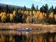 Canoe trail, Upper Klamath Lake