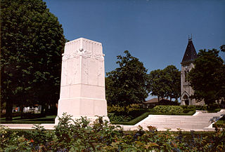 Cantigny, Somme Commune in Hauts-de-France, France