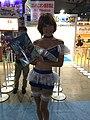 Capcom promotional model at Tokyo Game Show 20160916b.jpg