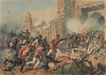 Capture of Delhi, 1857.
