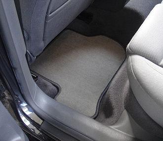 Vehicle mat - Fitted carpet car mat.